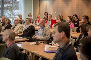 """Zuhörer bei """"Patienten im Dialog"""""""