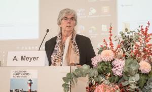 Begrüßung durch Annegret Meyer (Buxtehude)