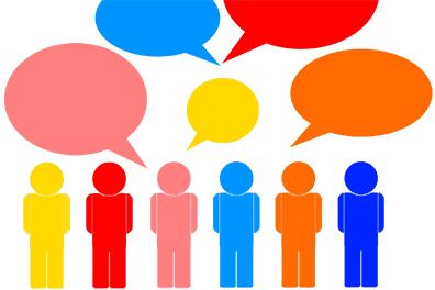 Grafik: Symbol - Treffen junger Menschen mit Melanom