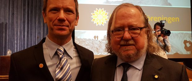 James Allison und Fredrik Östman