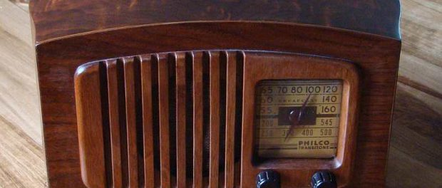 Alter Radioempfänger