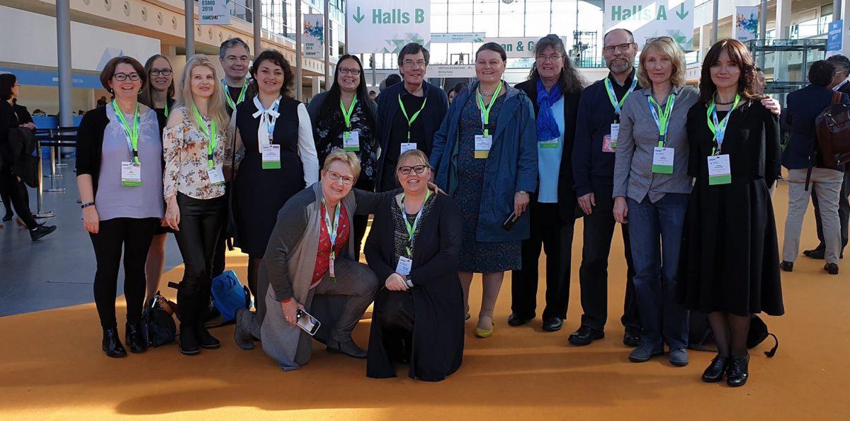 Vertreter des MPNE beim ESMO in München