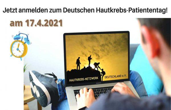 Jetzt anmelden zum Hautkrebs-Patiententag 2021!