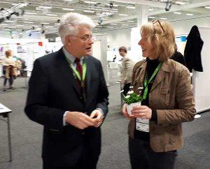 Kongresspräsident Prof. Wiegel mit HKND