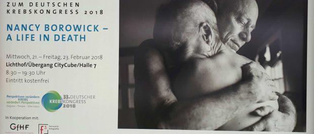 Fotoausstellung beim Deutschen Krebskongress 2018
