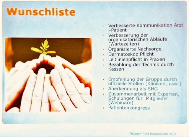Grafik: Melanom Info Deutschland