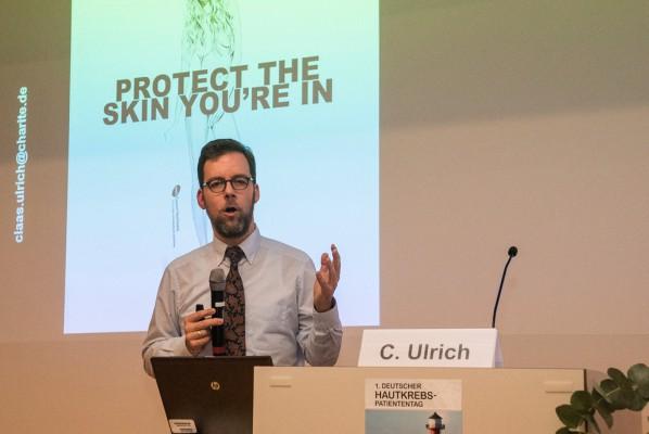 Dr. Claas Ulrich. Leiter des Haut Tumor Centrums Charité
